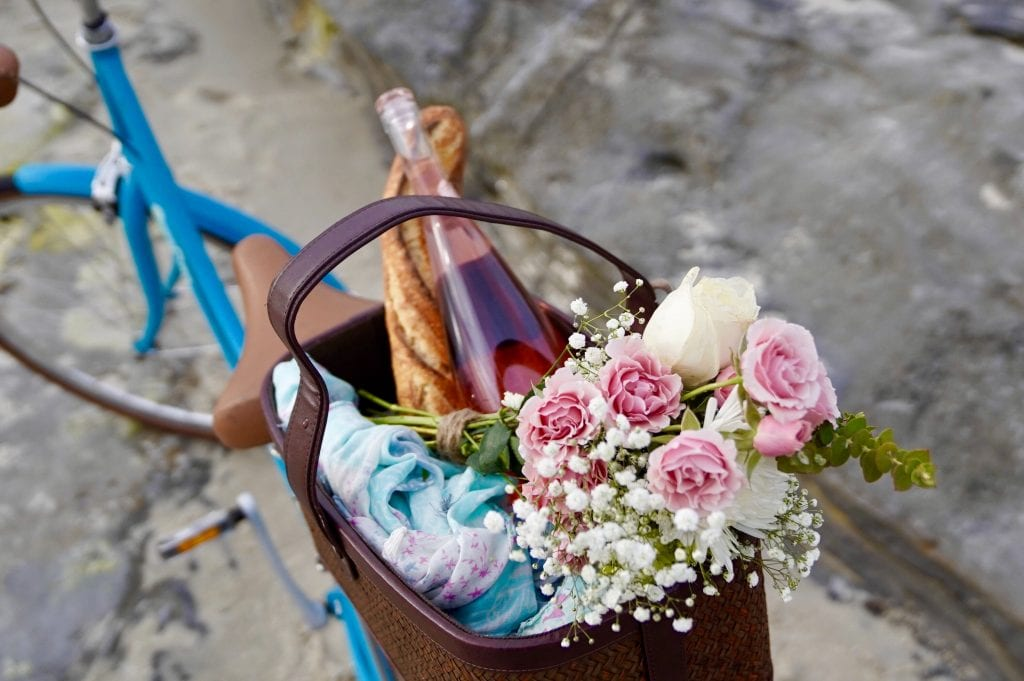 Will you travel to Europe? Rent a a beautiful bicycle with a picnic basket and have a day out in the sun